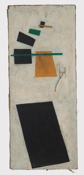 Kasimir MALEVICH 1878-1935 Suprematic – Composition 1915  Oil on canvas – Author…