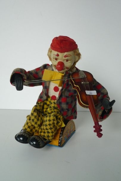 Japan ALPS, clown violoniste [bon état].