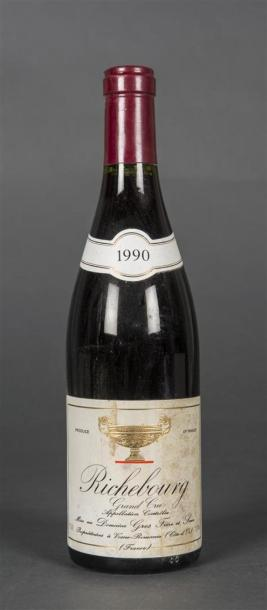 1 B RICHEBOURG (Grand Cru) e.t.h. Gros F&S 1990