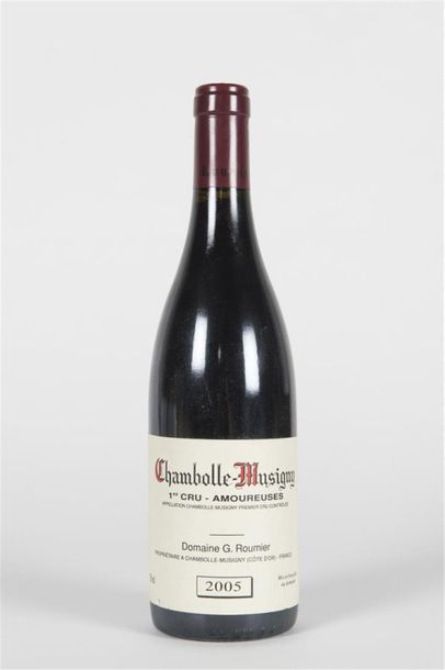 1 B CHAMBOLLE-MUSIGNY LES AMOUREUSES (1er Cru) e.l.a. Georges Roumier 2005