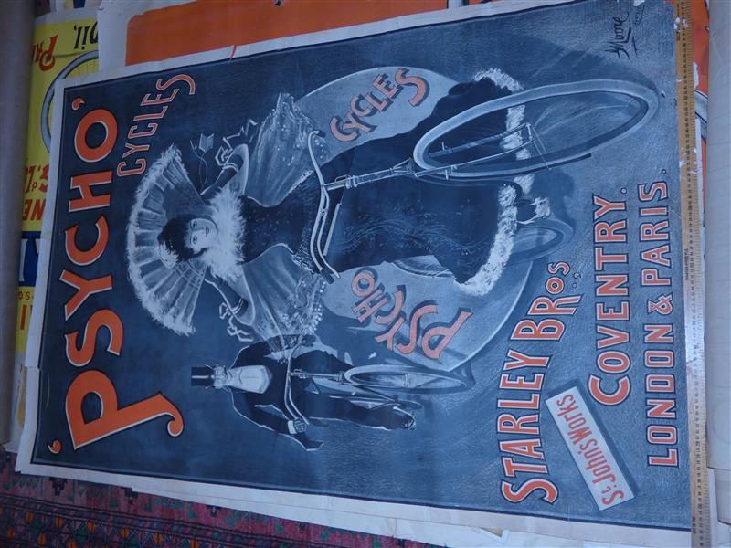 MOORE Georges - PSYCHO CYCLES. Starley Bros Coventry. London & Paris. Imp. DARGERFIELD…