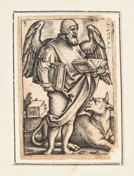 Beham, Hans Sebald BEHAM, Hans Sebald The Four Evangelists. 1541 4 engravings, 4…