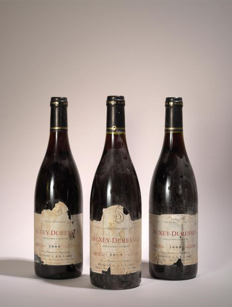 Auxey Duresses 3 bouteilles Auxey Duresses 2000, Domaine Labry