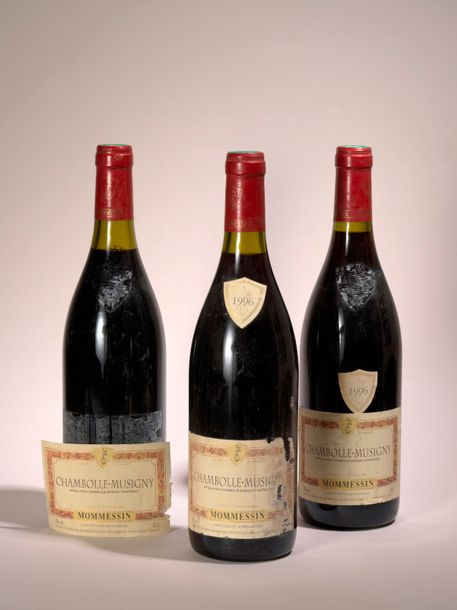 Chambolle Musigny 3 bouteilles Chambolle Musigny 1996, Mommesin