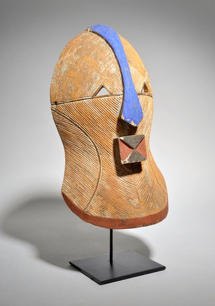 A Songye kifwebe mask Democratic Republic of the Congo with carved and pigment d…