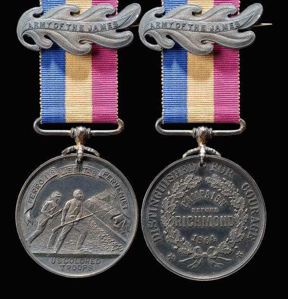 United States of America: Colored Troops Medal 1864, also known as the Butler Me…