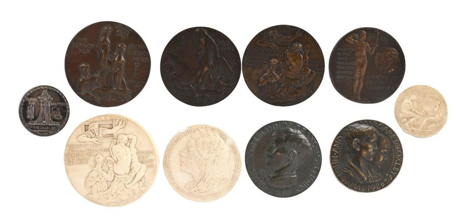 William McMillan R.A.: a small group of medals associated with the artist and sc…