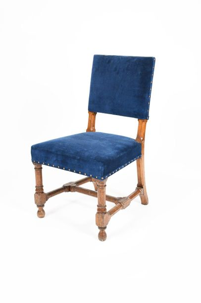 A Marsh & Jones oak chair designed by Augustus Welby Northmore Pugin, the carved…