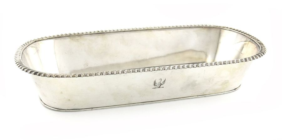 A George III old Sheffield plated knife tray, by T and J Creswick, circa 1815, o…