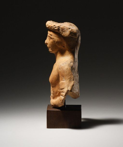 A Symposiast Western Greek late 5th early 4th cent. B.C..  Terracotta. H. 12.5 c…