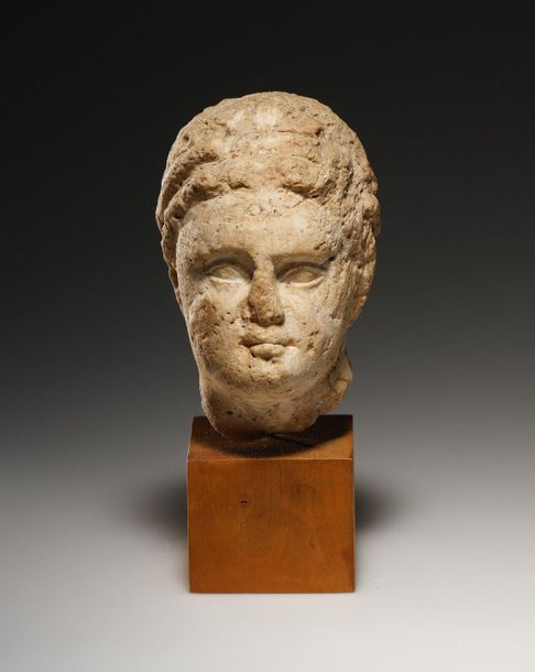 A Head of a Hellenistic Ruler Greek, Hellenistic 3rd cent. B.C..  Limestone. H. …