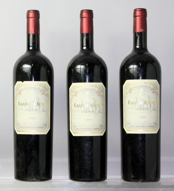 Trois magnums MADIRAN - CHÂTEAU D'AYDIE 2000