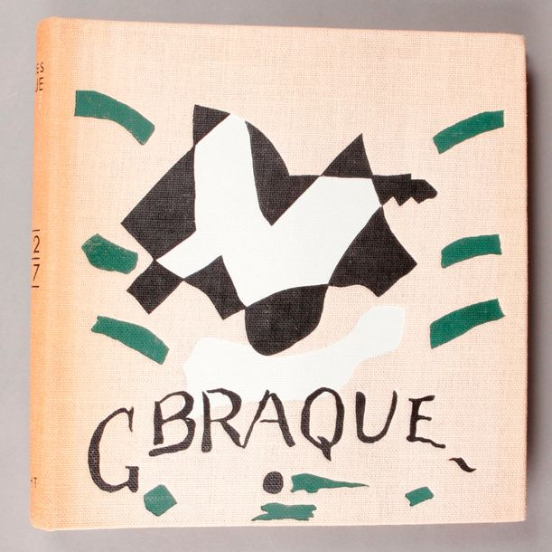 BRAQUE (Georges). Catalogue de l'oeuvre de Georges Braque, peintures 1942-1947. Maeght…