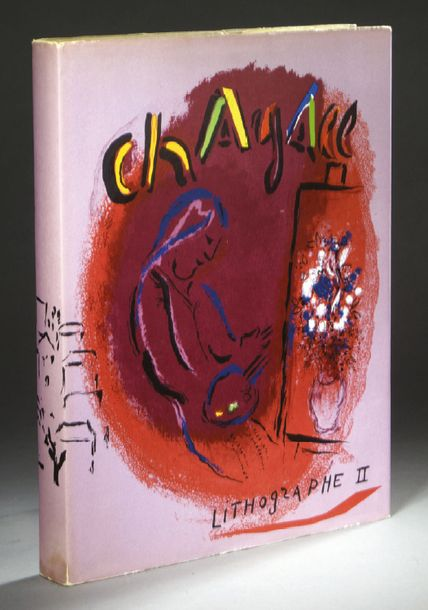 CHAGALL (Marc). Lithographe II 1957-1962. Catalogue raisonné des lithographies par…