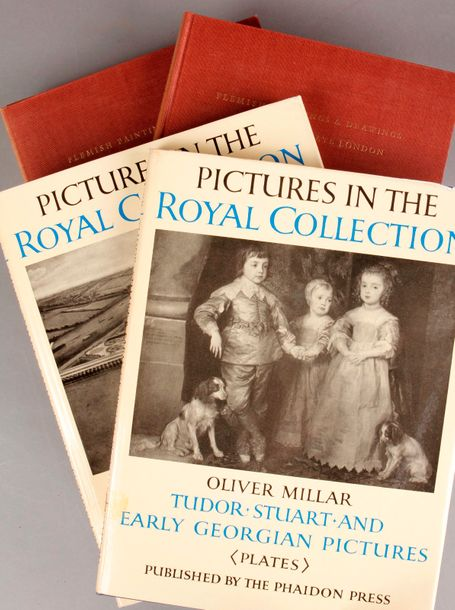 Flemish paintings and drawings at 56 Princes Gate. London, 1955, deux volumes in-4,…