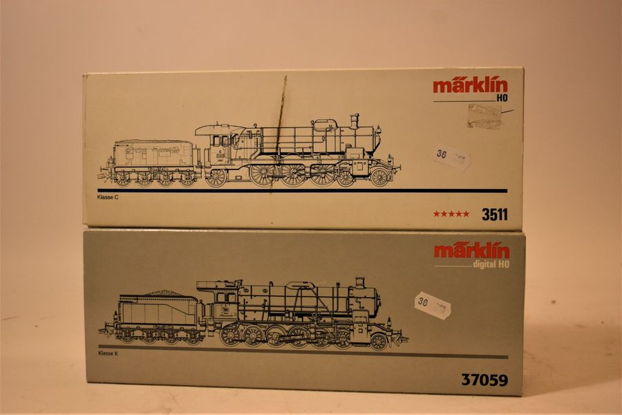 MARKLIN Digital(bo) : locomotive K digitale, réf. 37059  -Locomotive C, 3 voies,…