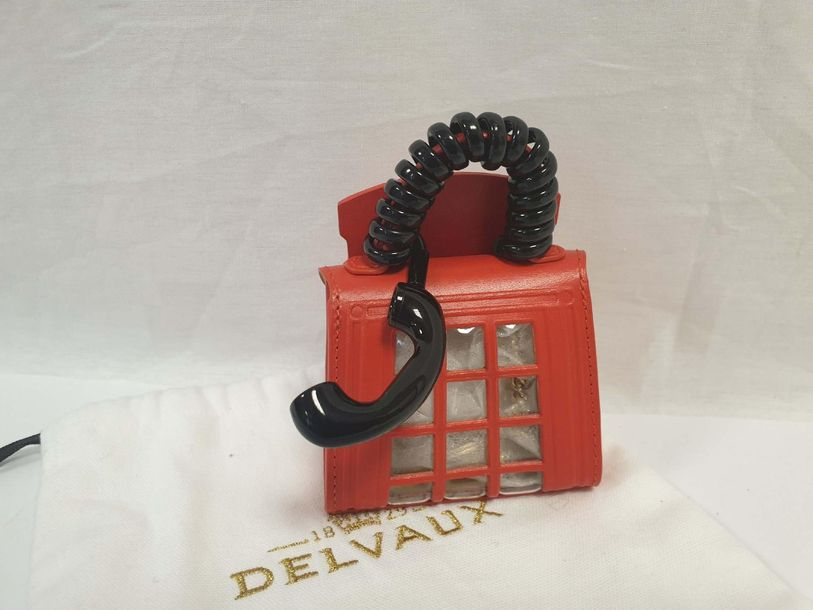 DELVAUX – Les Miniatures So British 	 	 		 Bijou de Sac « Brillant – Piccadilly …