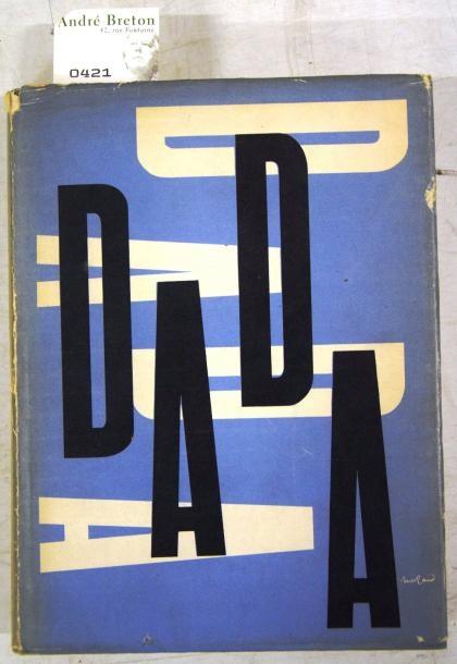 DADA THE DADA PAINTERS AND POETS. New-York, Wittenborn, Schultz, 1951. In-4°. Cartonnage…