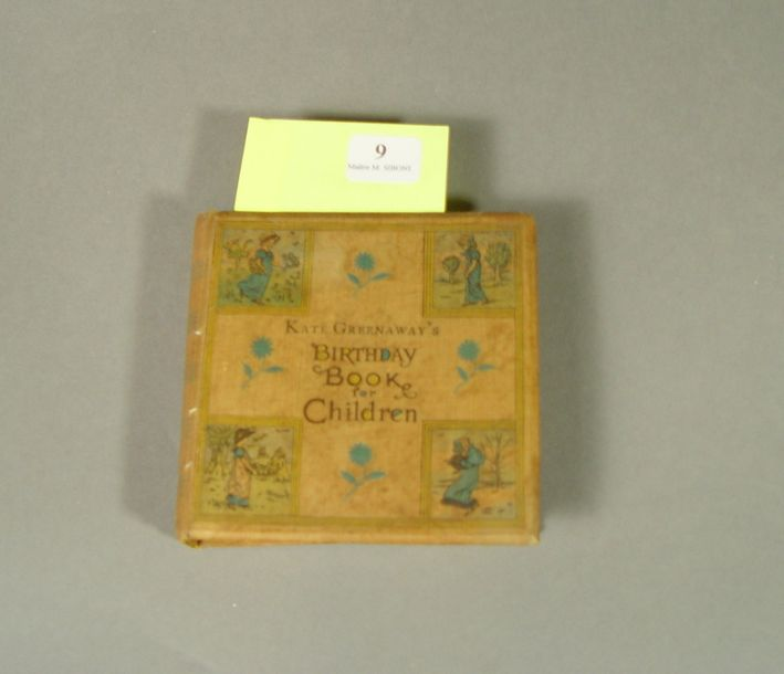 GREENAWAY (Kate) . Birthday book for children. London , Routledge & sons, sd (c.…