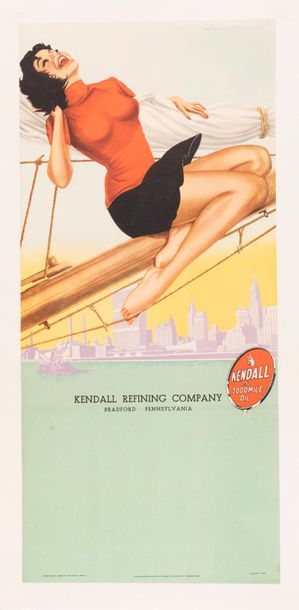 Signature difficilement lisible. Kendall Oil. Kendall Refining Company. Bradford…