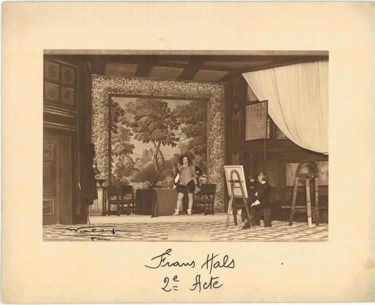 Sacha GUITRY Frans Hals Rare ensemble de 9 photographies originales d'époque (1931…