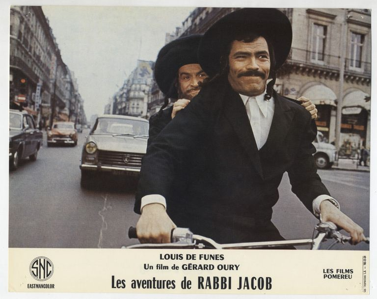 30 Photos originales - AVENTURE S DE RABBI JACOB (les) - 1973 30 photos d'exploitation…