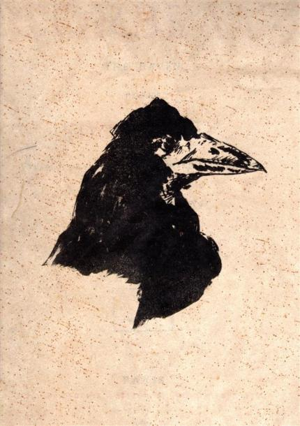 POE (Edgar Allan). Le Corbeau. The Raven. Poème par Edgar Poe. Traduction française…