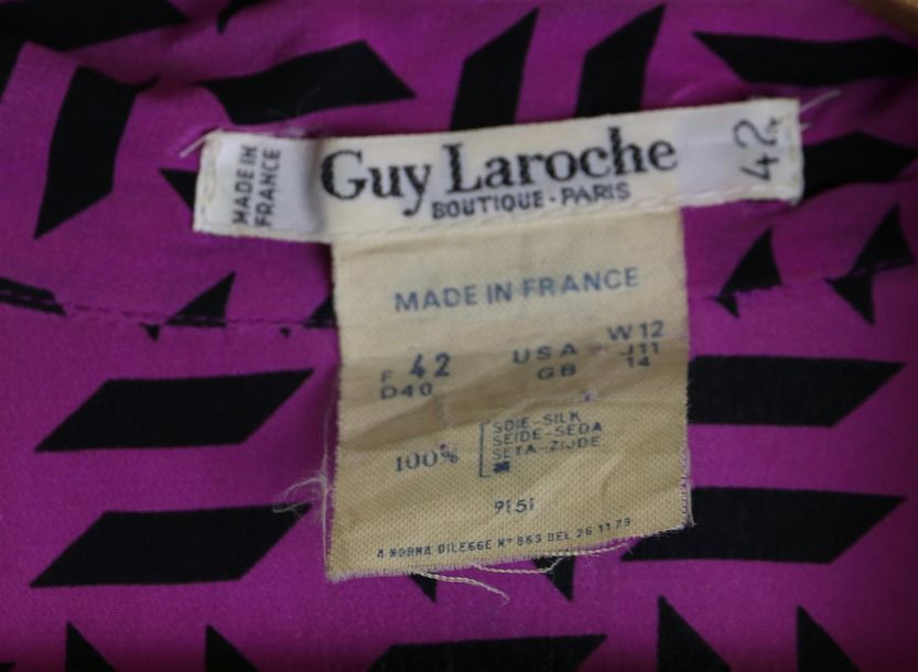 LOT DE CHEMISIERS FEMME, dont Valentino, Givenchy, Guy Laroche, Louis Féraud, 7…
