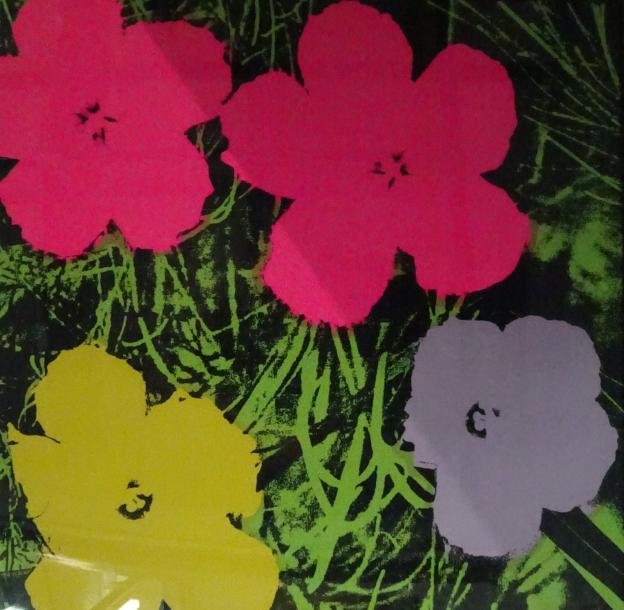 D'après Andy WARHOL & Sunday B. MORNING Editeur  Flowers.  Offset lithographique…