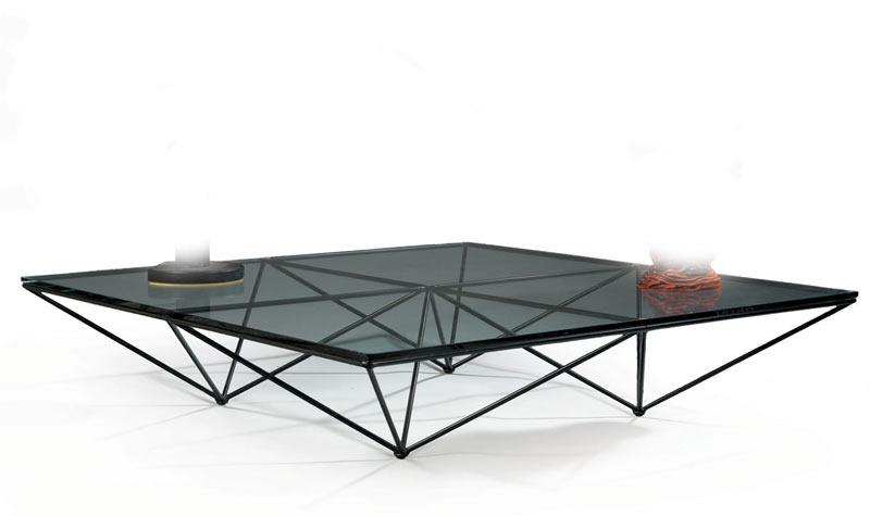paolo piva grande table basse carr e mod le alanda compos d 39 un r seua. Black Bedroom Furniture Sets. Home Design Ideas