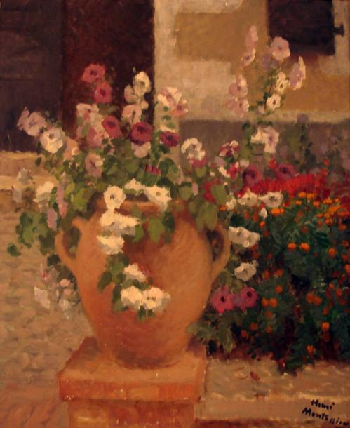 Henri MONTASSIER (Courlon 1880 - ?) Pot