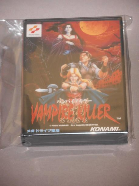 Vampire Killer pour SEGA Megadrive - Japon 1994 Rebaptisé «Castlevania the new generation»…