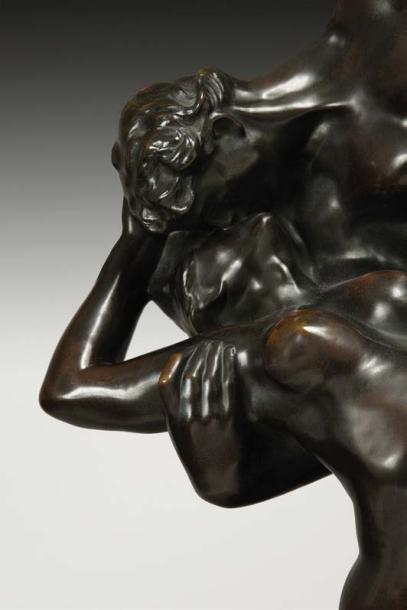 Auguste RODIN (1840 - 1917) Eternel Printemps, second état, 2ème réduction Bronze…