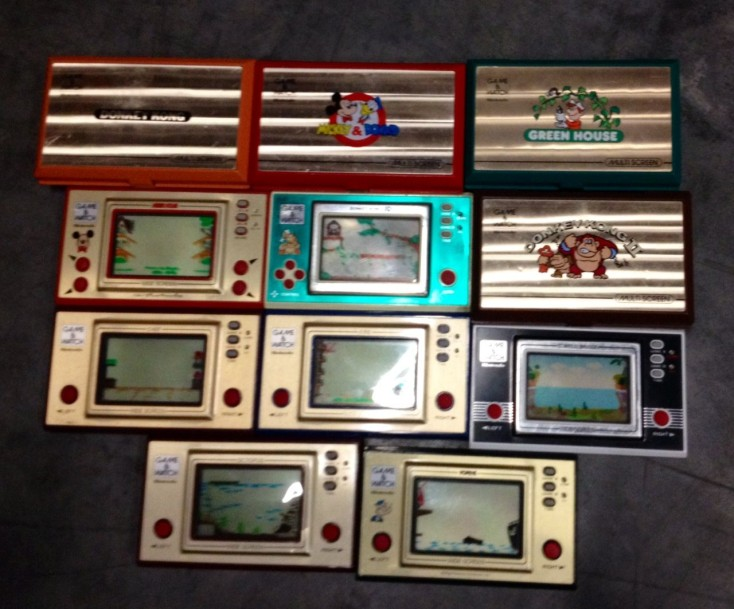 Lot de 11 Game & Watch en loose: Octopus