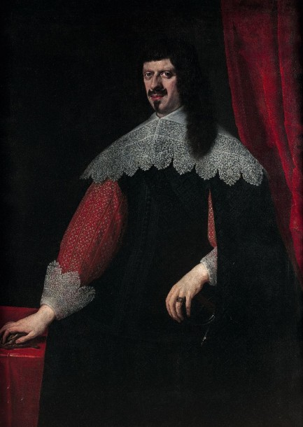 Attribué à Justus SUTERMANS (1597-1681) Portrait de Laurent de Medicis (1599-1648)…