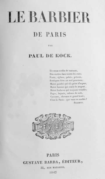 COCK (Paul de). Œuvres. Paris, Barba, circa 1840.  23 vol. in-12, demi chagrin vert…