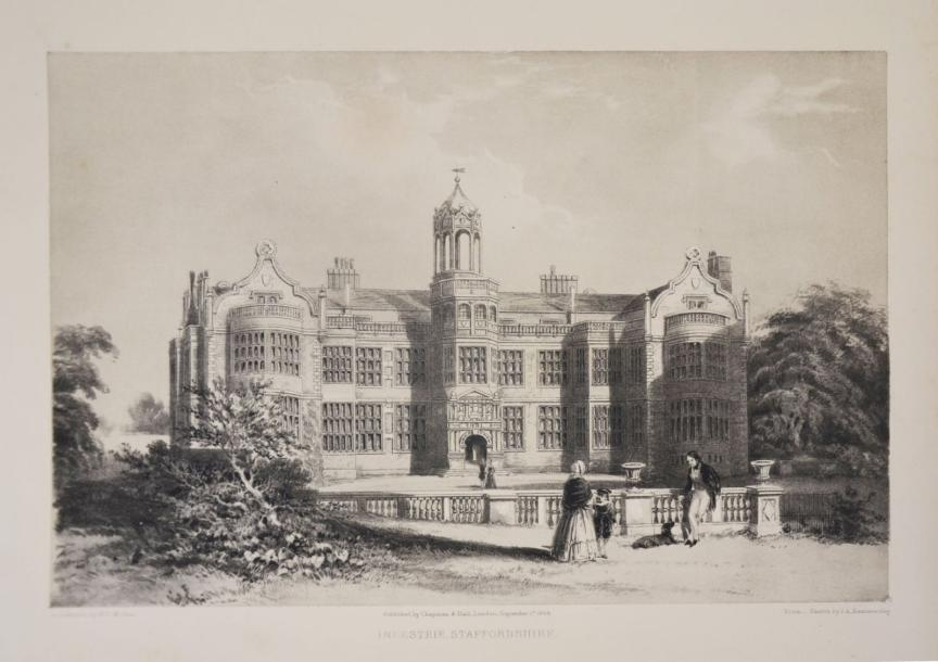 Royaume-Uni - HALL (Samuel Carter). The Baronial halls and picturesque edifices…