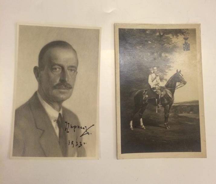 CYRILLE WLADIMIROVITCH . GRAND DUC. (1876-1938) PORTRAIT. PHOTO CARTE POSTALE. SIGNEE…