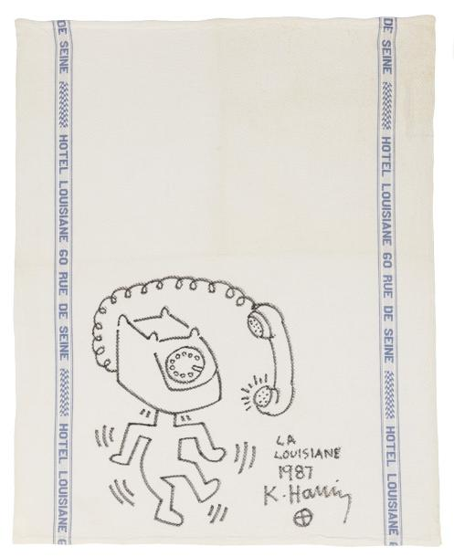 Keith HARING (1958-1990)  The phone is ringing, 1987  The phone is ringing, 1987…