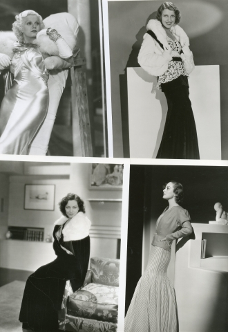 Actrices américaines Greta Garbo, Jean Harlow, Jeanette MacDonald… c. 1930-1950…