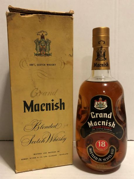 1	 bouteille 	SCOTCH WHISKY 		Grand Macnish 	18 ans