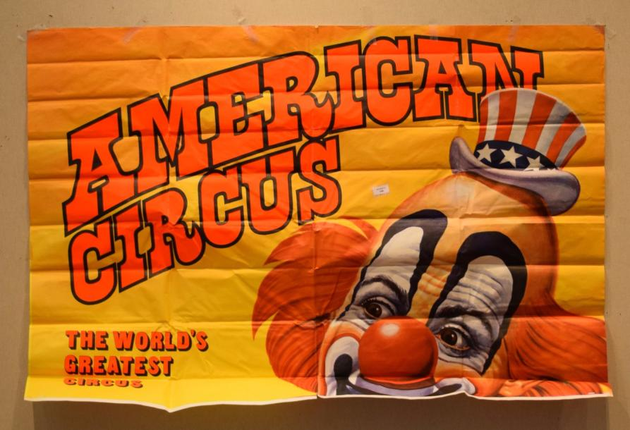 [ Cirque ] [ Affiche ] [ American Circus ]  Ensemble de quatre affiches :  The world's…