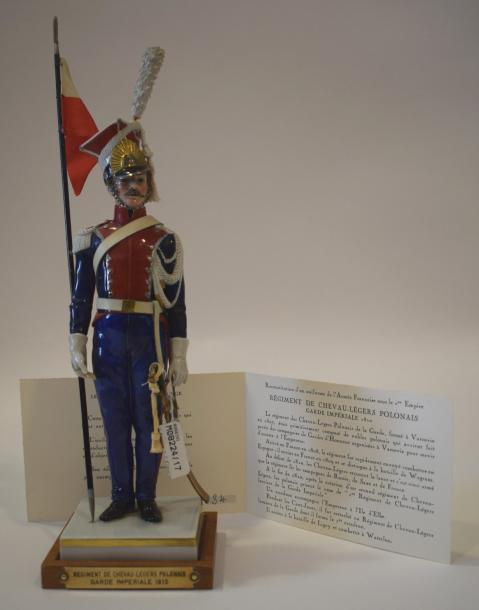 [ Empire ] [ Figurines Van Gerdinge ]  Régiment de Chevau-Légers Polonais Garde…