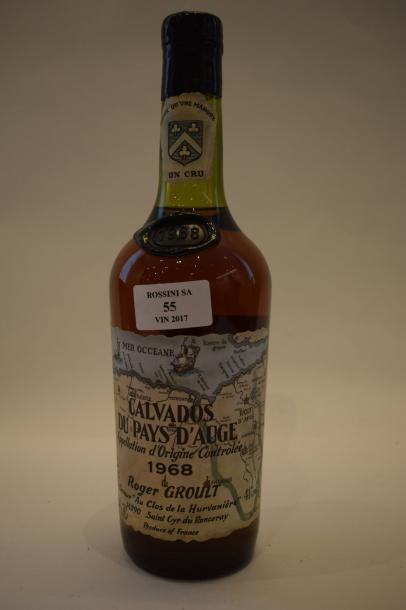 1 bouteille CALVADOS R. Groult 1968