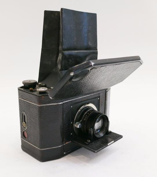 National Graflex. National Graflex Shutter Speed Series II. Objectif B.&L. Tessar…