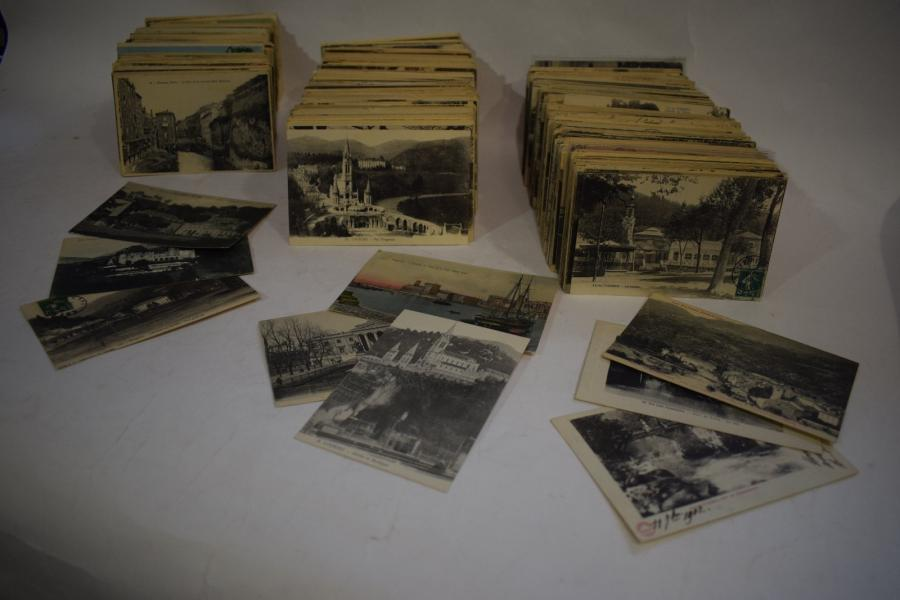[ Cartes postales ] [ France ]  Important lot (1856) de cartes postales de France,…