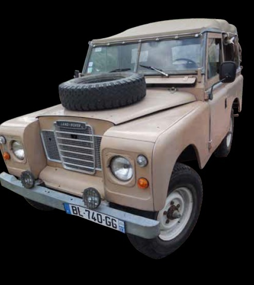 LAND ROVER 88 SERIES III 1973 - Découvrable Les Land Rover, mythiques véhicules…