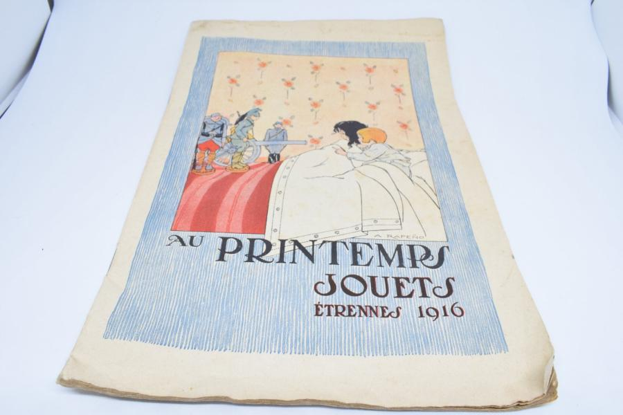 [ WW1 ] [ Catalogue ] [ Printemps ]  Au Printemps Jouets étrennes 1916  Catalogue…