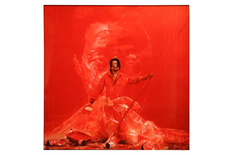 PHOTOGRAPHIE. RANCINAN Gérard (né en 1953). Ming in Red. Circa 2000. Tirage arge…