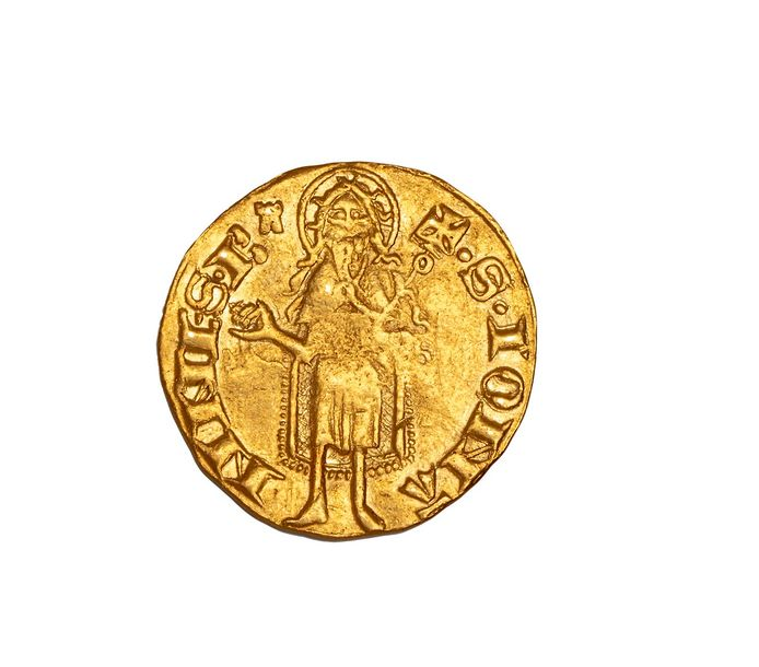 Florin d'or du Dauphiné. Charles,Dauphin. B.1061  Superbe.  Poids : 3.44 g.